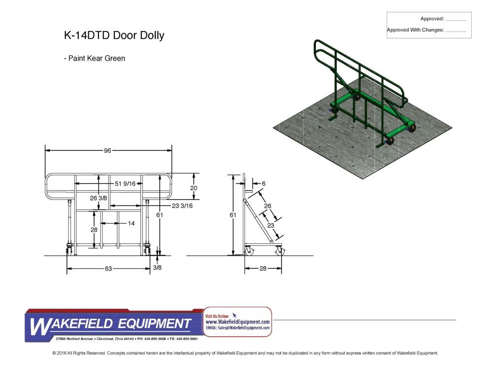 Door Dolly K 14DTD