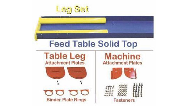 #TABBR – TigerStop Feed Table Bracket w/Binders