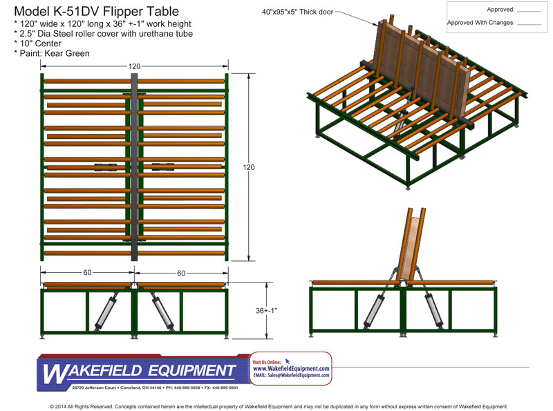 Flipper Table CAD
