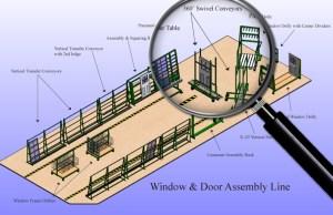 Window & Door Assembly Line 2015