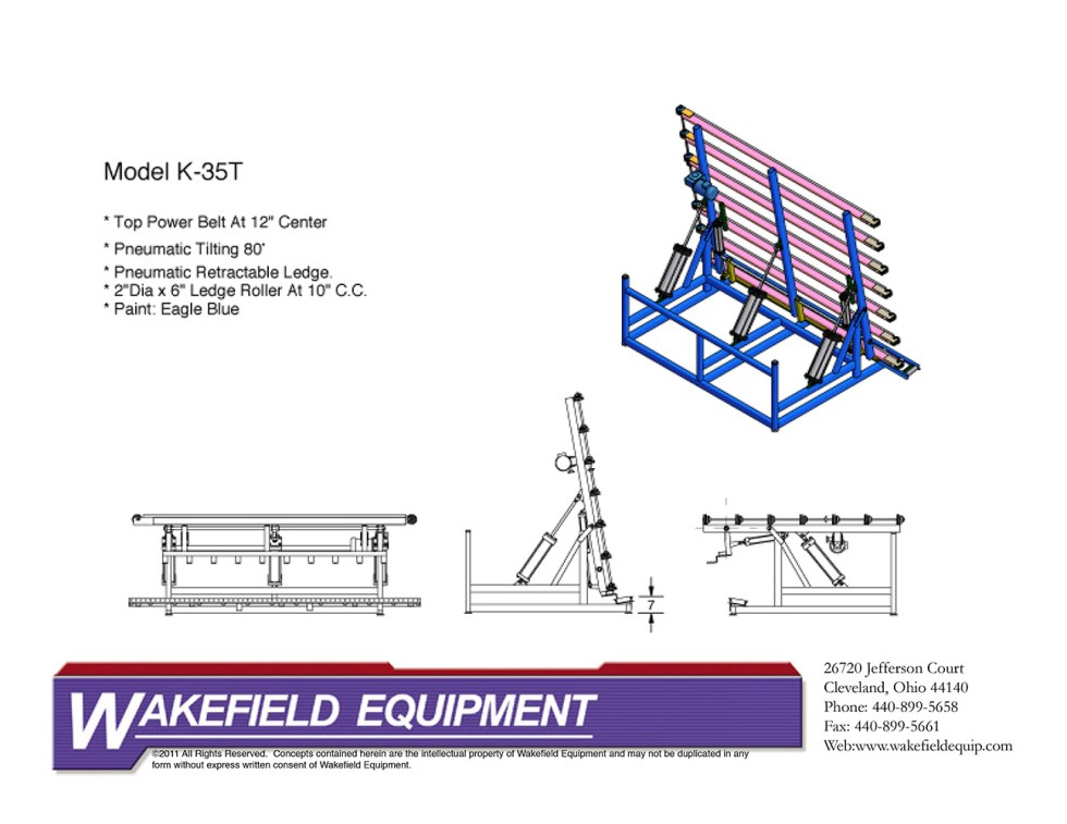 Belt Conveyor Tilting
