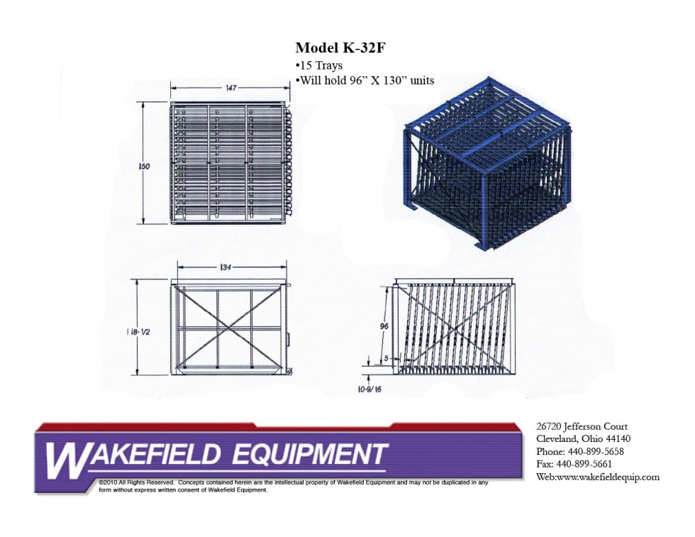 Glass Drawer System 15 Trays