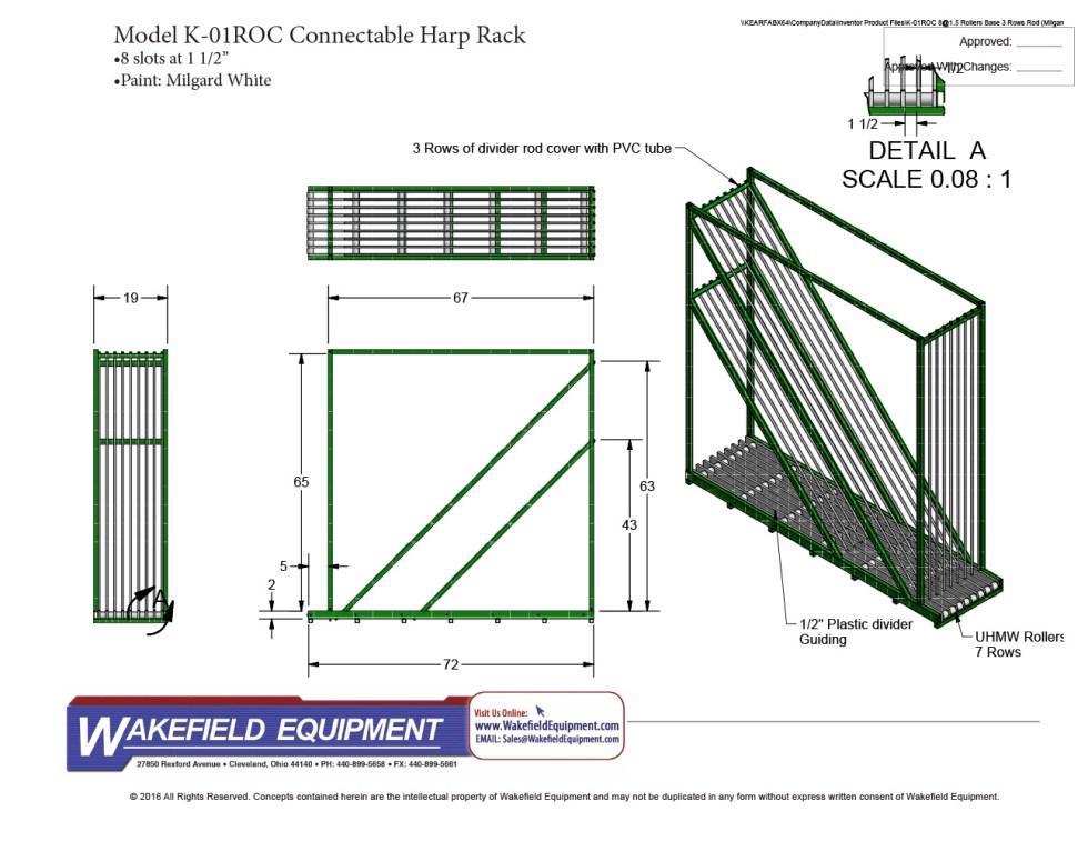 Harp Type IG Rack Modular