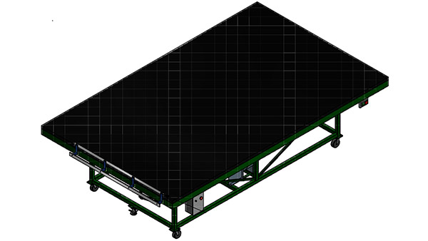 Air-Float Table for Jumbo Glass
