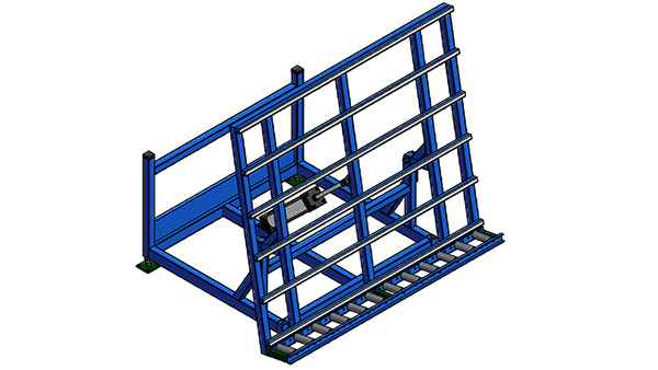 Pneumatic Tilt Transfer Tables