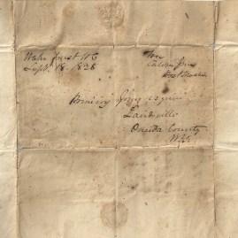 Calvin Jones Letter Address