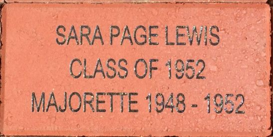 EXAMPLE: Sara Page Lewis Brick