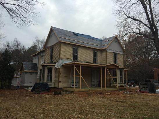 Cullom House Restoration