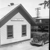 Wake Forest Depot, ca. 1940