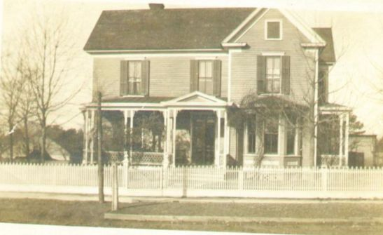 The home of W. R. Cullom as it appeared on N. Main Street, then called Faculty Avenue, ca. 1900.