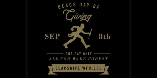 Deacs Day of Giving header.