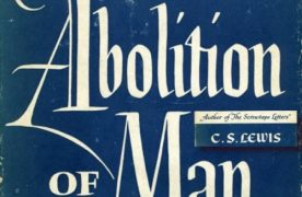 Sunday Book Review: The Abolition of Man
