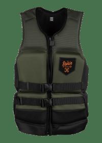 Ronix 2021 Forester Capella 3.0 (Olive/Orange) CGA Life Jacket