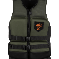 Ronix 2021 Forester Capella 3.0 (Olive/Orange) CGA Life Jacket