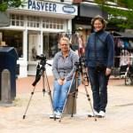 Jolanda en Hilda in het portret van Drachten door fotograaf Jeffrey Wakanno