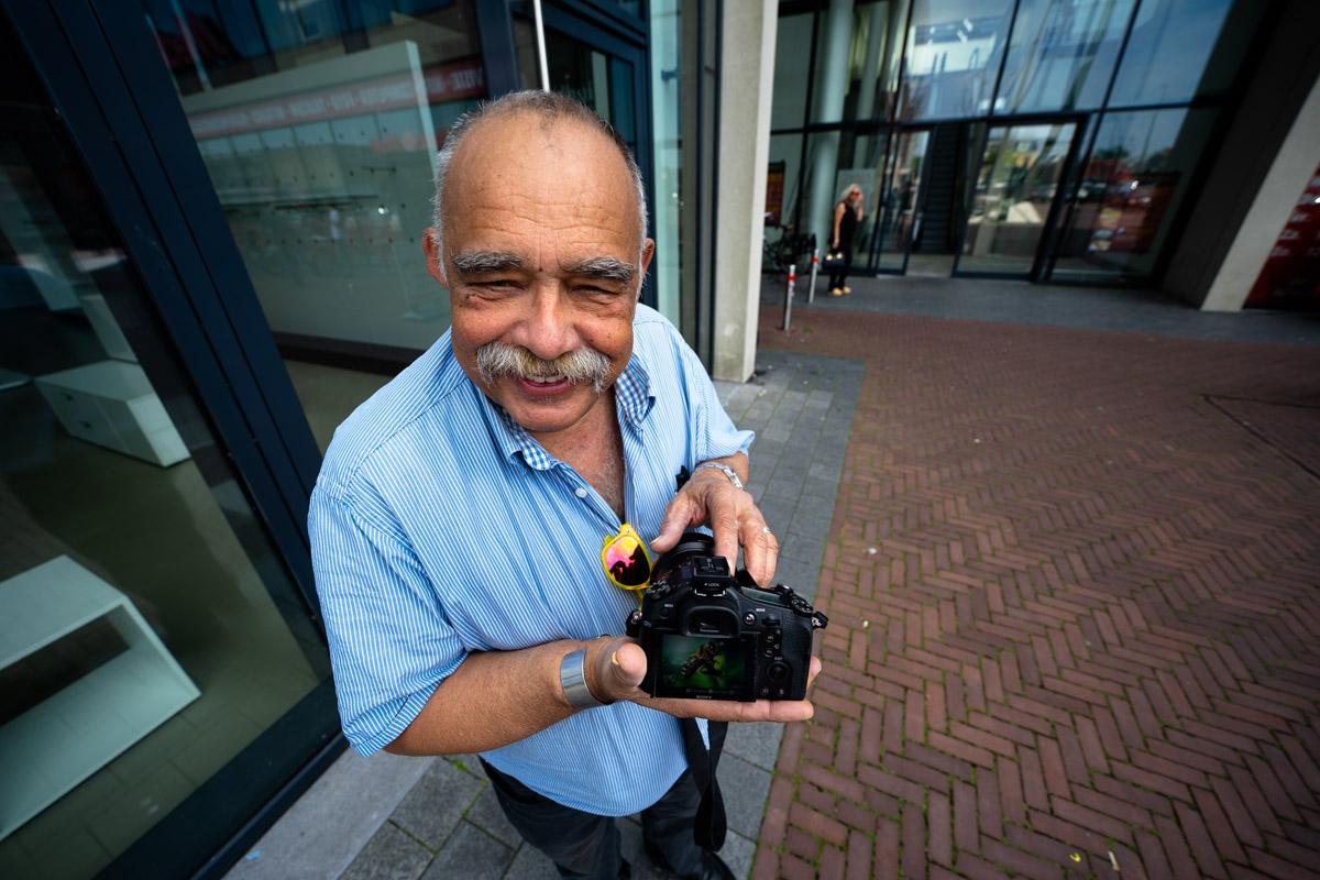 Rob Felix in het portret van Drachten door fotograaf Jeffrey Wakanno
