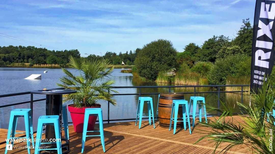 Wake Park Plessé - Appréciez un panorama superbe pour une détente grandeur nature - Etang de Buhel