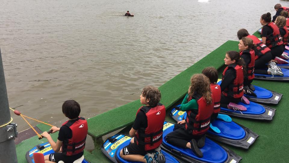 wakeboard débutant : stage wakeboard en Août