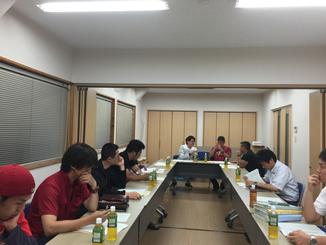 西予市商工会青年部平成27年度第2回常任委員会