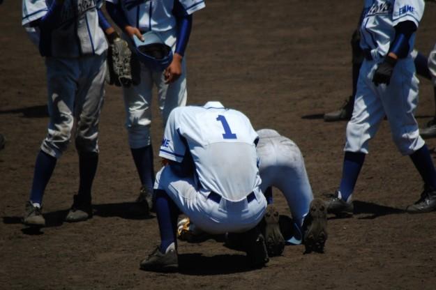 平成29年度西予市中学総体軟式野球決勝戦(三瓶中-城川中)