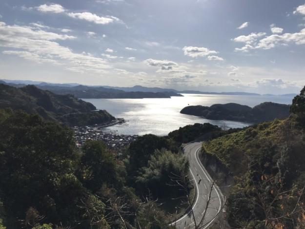 開通が待ち遠しい野福峠(宇和俵津線)の新しい道路