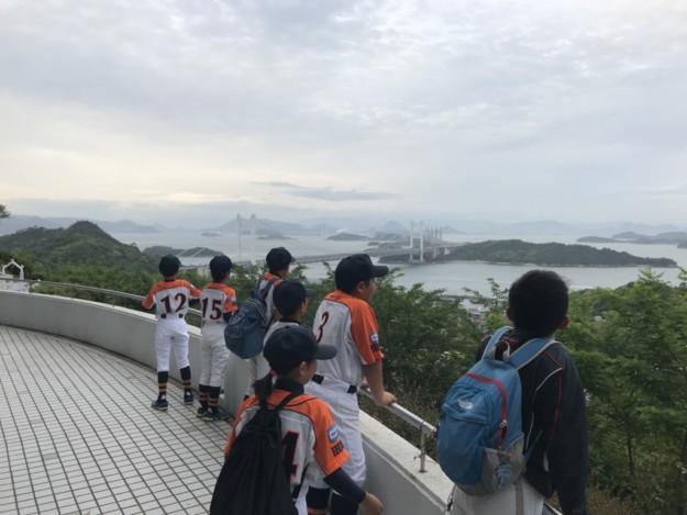 岡山遠征(第26回春季中四国大会)での野球以外の様子