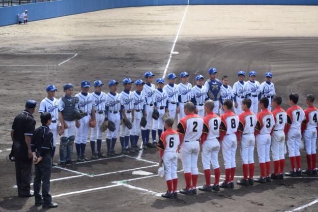 2019年度西予市中学総体・軟式野球の部 1回戦 第1試合 三瓶-城川