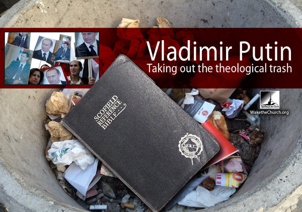 Vladimir Putin Destroys Scofield Prophecy and Dispensationalism