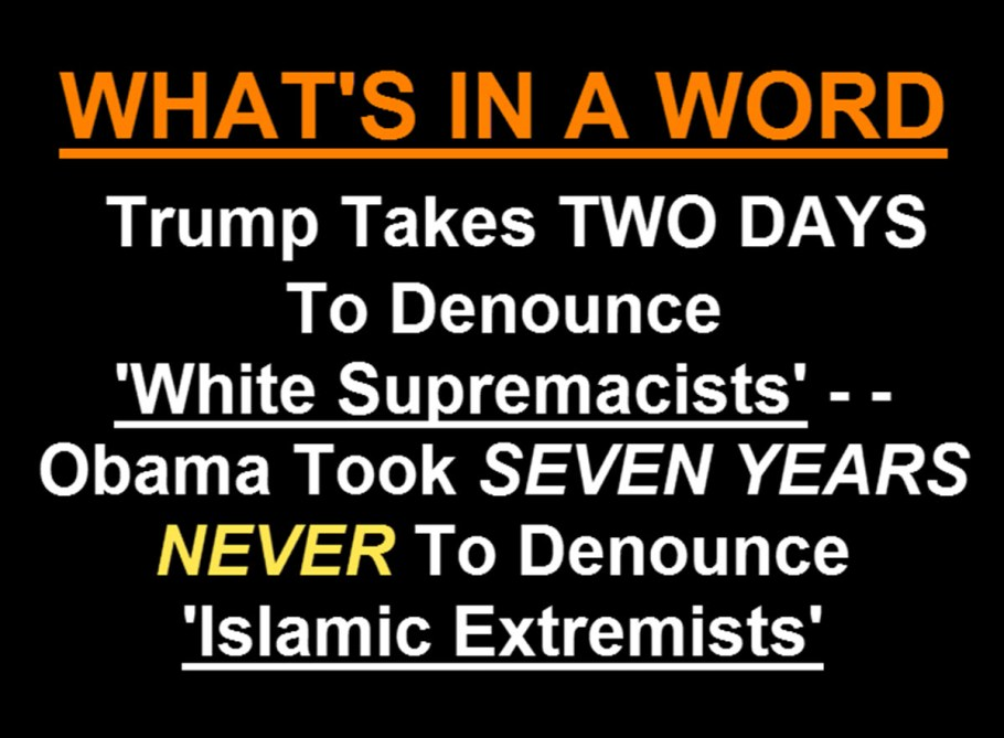 What's in a word - islamic terrorist vs KKK