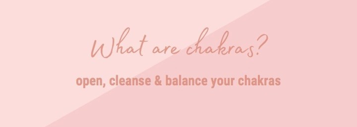 Open & balance your chakras – One