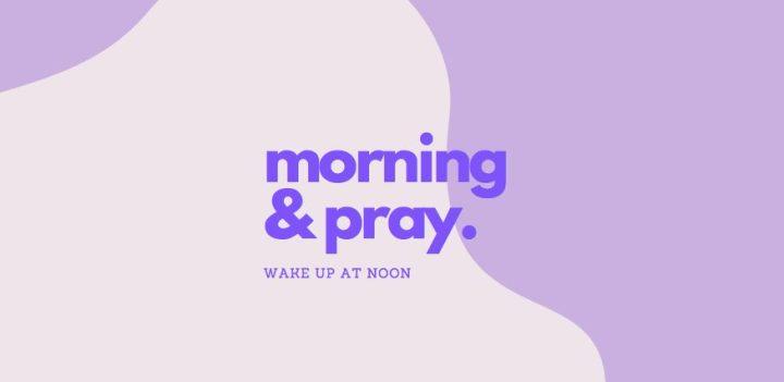 早晨祈禱文