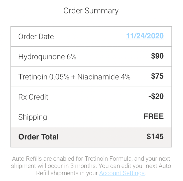 shipping and cost