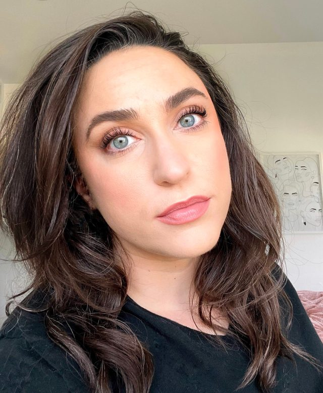woman wearing makeup by mario makeup products