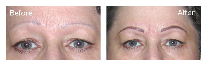 Corrective tattooing services: Eyebrow Correction