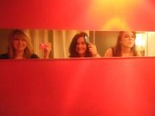 Brady Bunch mirror selfie