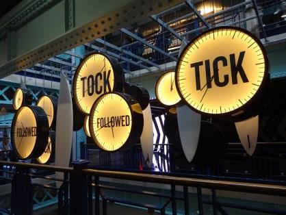 Tick followed tock