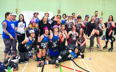 Wakey Wheeled Cats and Durham Roller Derby