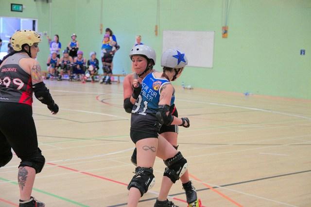 wakefield roller derby jammer
