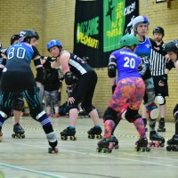 roller derby starting line up