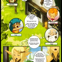Wakfu Doujin: Princess Amalia uses her powers over plants to give Evangelyne one good fuck!