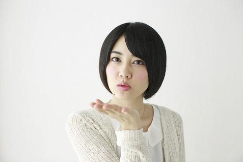 投げキッス (2)