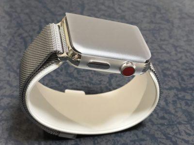 AppleWatchステンレススチール「ミラネーゼループ」モデル