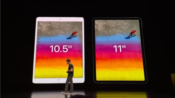 新型iPad Pro2018は、11インチとなった。