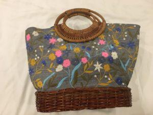 ベトナム、ハノイ、刺繍バッグ、ハーリエン