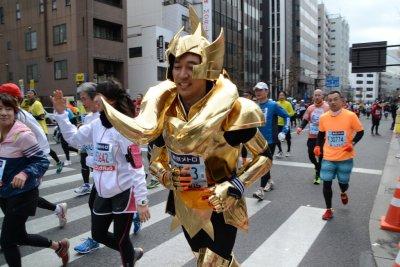東京マラソンは仮装大会です