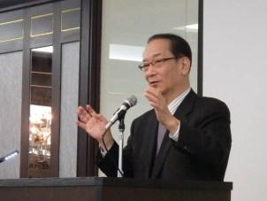 北川先生の基調講演「地方創生時代に求められる地域と高校生の連携のあり方」
