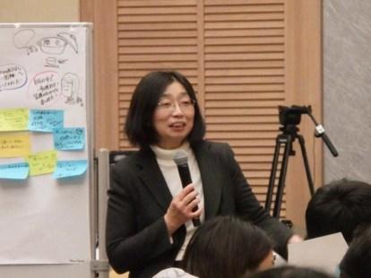 藤田先生の講評「よかった、よそで宣伝しちゃいます」