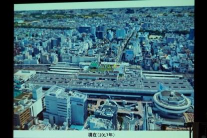 現在の大宮駅周辺の写真