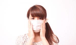 マスクで花粉症対策