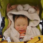 ベビーカーと赤ちゃん